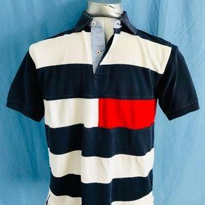 Tommy Hilfiger Mens Vintage Polo Size SM